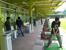 ゴルフ 始めます